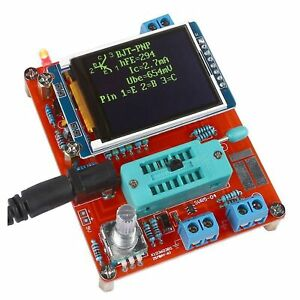 Tft Lcd Gm328 Transistor Tester Diode Lcr Esr Meter Pwm Square Wave Generator