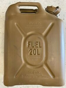 Green Army Military Scepter Us Military Fuel Can 20l Gas Jerry 5 Gal Tank