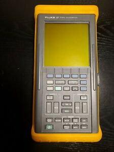 Fluke 97 50mhz Scopemeter With Probes And Power Adapter