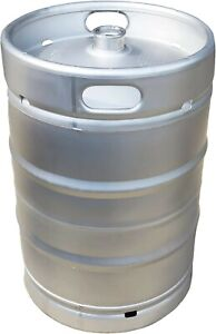 American Made 1 2 Barrel Keg 15 5 Gallons With Sankey D Micro Matic Spear New
