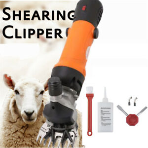 Adjustable Speeds Electric Supplies Sheep Goat Shears Animal Grooming Clipper Br
