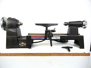 Vintage Carba tec Mini Lathe Model Hm 1a Includes Motor Housing And Manual