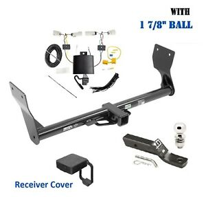 Trailer Hitch Package W 2 Ball Cover For 2019 2020 Ford Edge Except Titanium