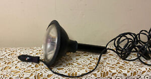 Vintage Spot Light 12 Volt Hand Held Car Spotlight Great For The Vintage Car