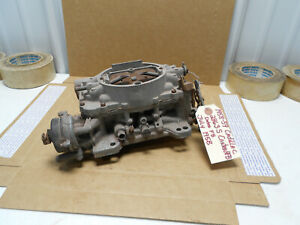 1958 1959 Cadillac Orig Carter Afb 4bbl Carburetor 2863s Dated F8 1959 Eldorado