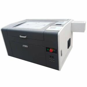 Desktop 50w Co2 Laser Engrave And Cutter Machine 20 X 12 Cw 3000 Chiller