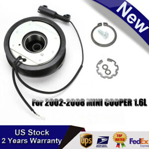Ac A C Compressor Clutch Pulley Bearing Coil Plate For Mini Cooper 2002 2008 New
