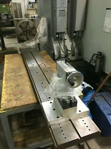 New Custom Built Haas 4th Axis Milling Machine Fixture Attachment dp