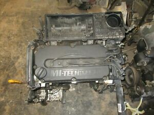 03 04 05 Kia Rio 1 6 Dohc Engine Motor Assembly No Shipping Pick Up Only