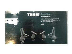 Thule Dockglide 896 Roof Rack Kayak Carrier With Tie Downs Saddle Style