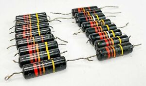 Sprague 0 022 Uf 400 Volt Bumblebee Paper In Oil Capacitors From Mcintosh Gear