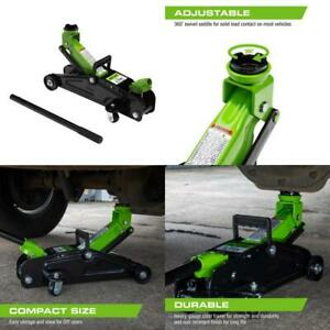 2 Ton Trolley Jack Lightweight Extra Suv Adapter Saddle Higher Lifting