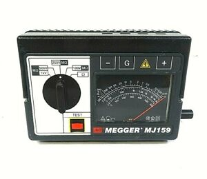 Megger Mj159 Hand Crank Insulation Continuity Tester As Is
