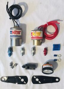 Nos Pro Shot 16040 Nitrous Solenoid Cheater 16050 Fuel Solenoid Kit 350hp