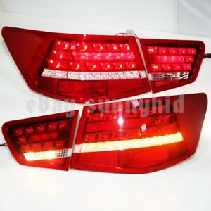 Rear Lights For Kia Cerato Forte Sedan Led Tail Lights 2009 2013 Year Red Whv1