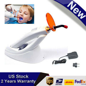 Usa Stock Dental 5w Wireless Cordless Led Curing Light Lamp 1800mw Adjustable