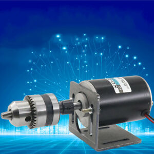 12 24v 30w Permanent Magnet Electric Dc Motor High Speed For Diy Generator
