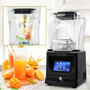 Commercial Grade Fruit Mixer Juicer Heavy Duty Smoothie Blender Ice Crusher Usa