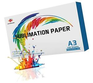 Sublimation Paper Heat Transfer Sheets For All Inkjet Printer W Ink Roll Tape1