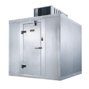 Naks Walk in Outdoor Cooler 6 X 6 X 7 2 1 4 Box W Self contained 35 f