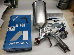 Anest Iwata 2113 W400lv 1 3mm Gravity Feed Spray Gun W Cup