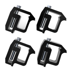 4 Pcs Mounting Clamps Truck Caps Camper Shell For Chevy Silverado Sierra 1500