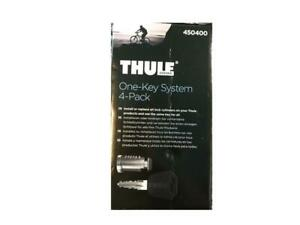 Thule One Key System 4 Pack 450400 Keyed Alike Cylinders Lock With One Key