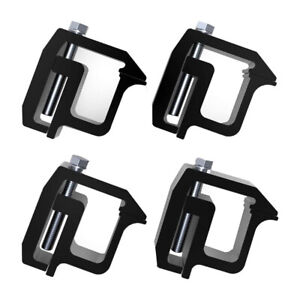 4x Heavy Duty Mounting Clamp For Truck Cap Camper Topper Short Bed Pickup Truck Fits Toyota Tacoma