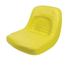 Jd Replacement Seat High back Steel Pan Style 18 Wide Yellow 155000ye Farmer