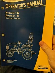 New Holland Boomer 20 25 Compact Tractor Operator s Manual