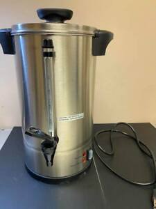 Used Sybo Rcm016s 8b Commercial Grade Stainless Steel Percolate Coffee Maker