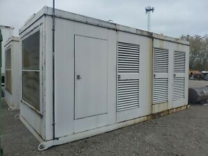Drop Over Generator Enclosure 400 Kw 1000 Kw 19 l X 8 w X 9 t