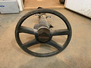 88 94 Chevy Gmc Truck 1500 2500 3500 Steering Column Floor Shift No Tilt W Key