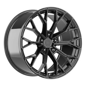 4 Hp3 20 Inch Staggered Gloss Black Rims Fits Toyota Gr Supra 2020 2021