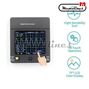 Mini Handheld Digital Oscilloscope Dso112a 2mhz 2 4inch Tft Touch Screen
