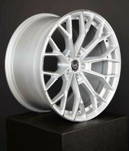 4 Hp3 20 Inch Staggered Silver Rims Fits Infiniti M37x 2011 2013