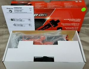 Snap on Ctss761w1 14 4v Microlithium Cordless In line Screwdriver Includes 1 Bat