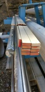 1 2 X 1 1 2 X 12 304 Stainless Steel Flat Bar Sold In12 Lengths