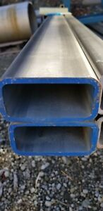4in X 2in X 1 4in Wall Stainless Steel Square Tube 24in Piece