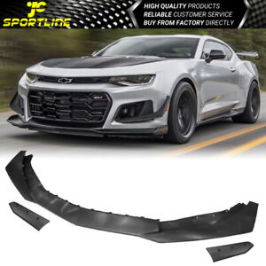 Replacement Front Lip Fits 16 18 Chevy Camaro 1le Style Front Bumper Cover Pp
