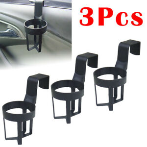 3 Pcs Car Window Seat Bottle Holder Headrest Door Drink Cup Mount Stand Sale
