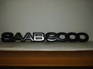 95 98 Saab 9000 Factory Trunk And Hood Emblems