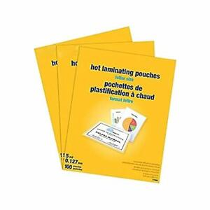 Myofficeinnovations 5 Mil Thermal Laminating Pouches Letter 300 Pack 2425553
