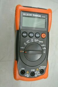 Klein Tools Mm200 Digital Multimeter Auto Ranging Meter b37