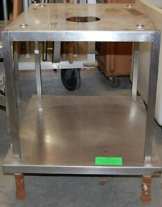 Stainless Steel Table Commercial Mixer grill heavy Equip Stand W shelf 18 165