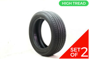 Set Of 2 Used 265 50r20 Bridgestone Dueler H L 400 107t 8 32