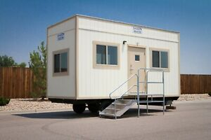 New 8x24 Mobile Office Trailer Construction Job Site Modular Building Chicago