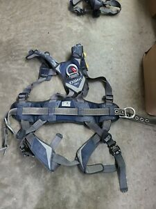 Dbi Sala Exofit Positioning Safety Harness Iron Worker Tower Climber Size Med