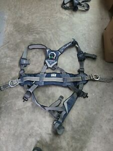 Dbi Sala Exofit Positioning Safety Harness Iron Worker Tower Climber Size Lg