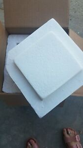 Styrofoam Insulated Cooler Shipping Container 16x14x10 W outer Box